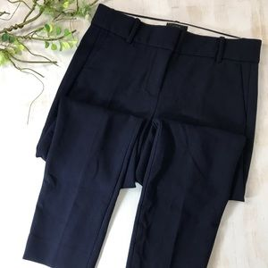 J Crew Cameron Navy High Rise Pant Size 6 NEW